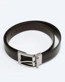 Saddler Belts Reversible Genuine Leather Black/Brown