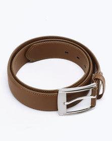 Saddler Belts Genuine Leather Upper & Backer Tan