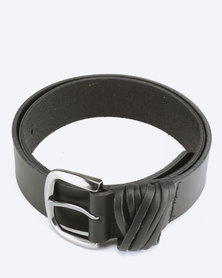 Saddler Belts Ladies Genuine Leather Classic Casual Belt Black
