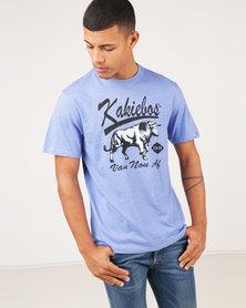 Kakiebos Blou Bul T-Shirt Blue Melange