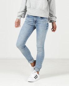 YAYA Skinny Jeans Blue