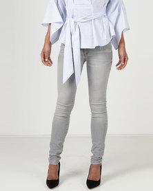 YAYA Skinny Jeans Grey