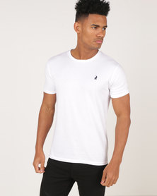 Polo Crew Neck T-Shirt White