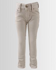 Polo Boys Brett Skinny Jeans Stone