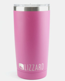 Lizzard Active Stainless Steel Insulation Flask Pink
