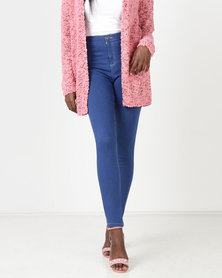 Legit Tube Skinny Jeans Periwinkle