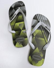 Havaianas Trend Flip Flops Steel Grey/Grey