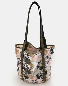 Converse Everyday Tote White/Storm Pink