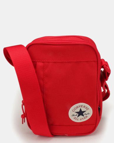 5e2dc5fd0869 Converse Cross Body Bag Enamel Red
