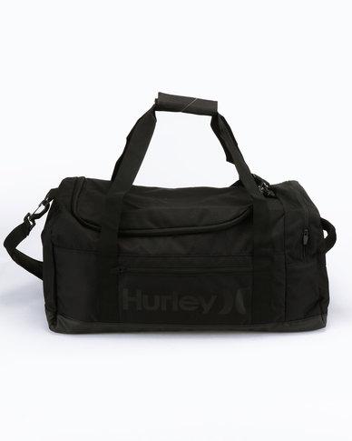 Hurley Renegade II Solid Duffle Bag Black  25829205558e6