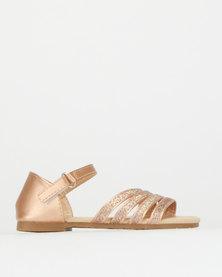 Rock & Co Dinkley Sandals Gold