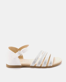 Rock & Co Dinkley Sandals White