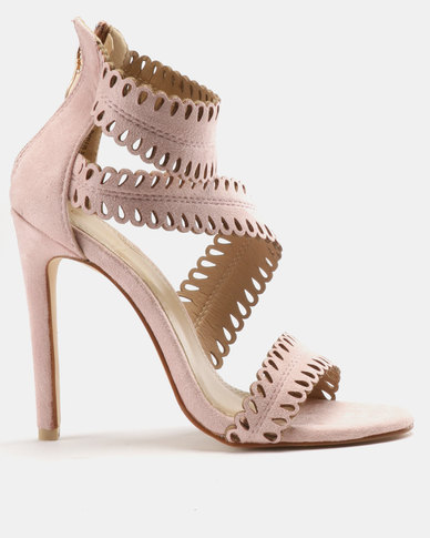 Sandals Heeled Phyllis Pink Black Miss xdeoCB