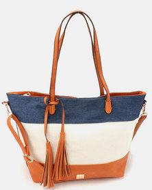 Butterfly Bags Bourke Tote Handbag Tan