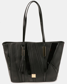 Butterfly Bags Fella Tote Handbag Black