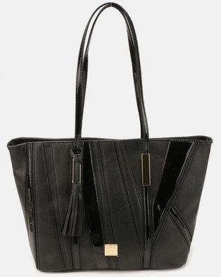 Butterfly Bags Fella Tote Handbag Black