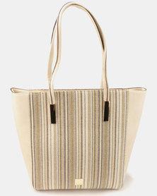 Butterfly Bags Malletier Handbag Beige