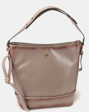 Butterfly Bags Antigona Handbag Grey