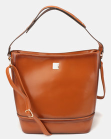 Butterfly Bags Antigona Handbag Tan