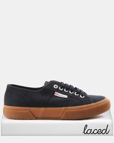 Superga Classic Canvas Sneakers Navy/Gum