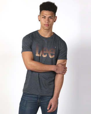 57a00b8eb4b Lee Dotted T Shirt Pewter