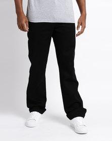 Wrangler Texas Jeans Black Black