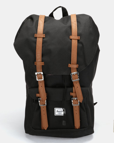 9b113b08aaf Herschel Little America Backpack Black