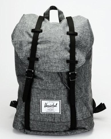 9805d9d61499 Herschel Retreat Backpack Raven