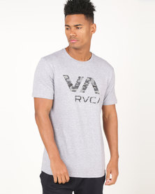 RVCA PERFORMANCE Dark Camo VA Short Sleeve Tee Athletic