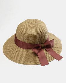 You & I Classic Rivera Straw Hat Natural