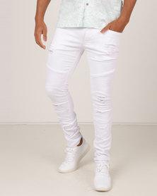 Soul Star MP Proudest Jeans White