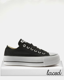 Converse Chuck Taylor All Stars Lift Ox Sneakers Black/White