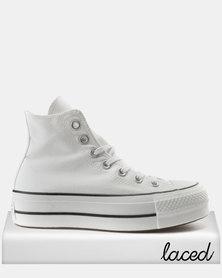 Converse Chuck Taylor All Star Lift Hi Sneakers White/Black