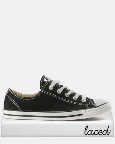 278c671bd232 Converse Chuck Taylor All Star Dainty Ox Sneakers Black