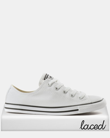 Converse Chuck Taylor All Star Dainty Sneakers OX White  fc173cb19