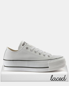 Converse Chuck Taylor All Star Lift Clean Sneakers OX White/Black