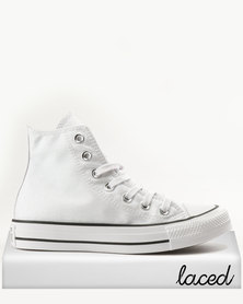 Converse Chuck Taylor All Star Hi White Black