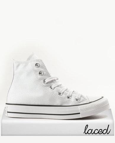 Converse Chuck Taylor All Star Hi White Black