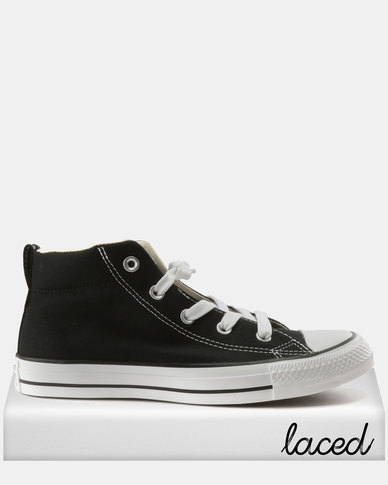Converse Chuck Taylor All Star Street Mid Black  0e2c39ae927c