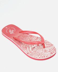 Lizzy Muriel Flip Flops White/Magenta