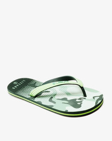 Lizzard Comfort Flip Flops Camo Multi