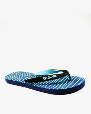 Lizzard Zebulon Flip Flops Black/Navy