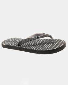Lizzard Zebulon Flip Flops Black/Grey
