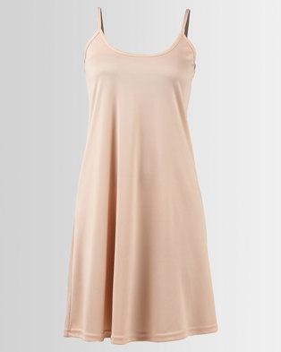 Nucleus Slip Dress Nude d4e0cb65e