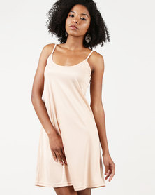 Nucleus Slip Dress Nude