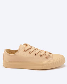 Soviet Viper Low Cut Canvas Sneakers Light Desert Mono