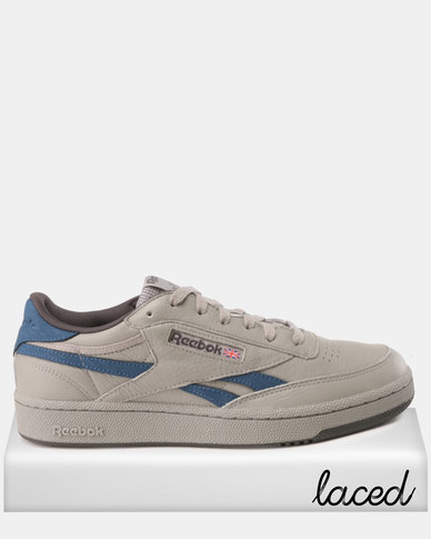0294e1cac7ad Reebok Revenge Plus MU Sneakers Tin Grey Blue White