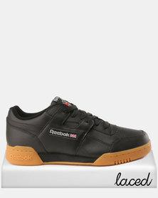 Reebok Workout Plus Sneakers Black/Carbon/Red/Roy