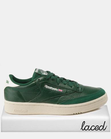 Reebok Club C 85 MU Sneakers Dark Green Chalk  103c20bf3