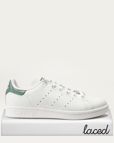 la moitié 60419 dee7c adidas Stan Smith W Sneakers White/Raw Green